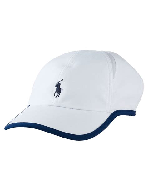 polo ralph mesh panel hat in white lyst