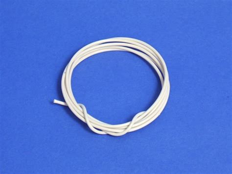 electrical cable white 1mm