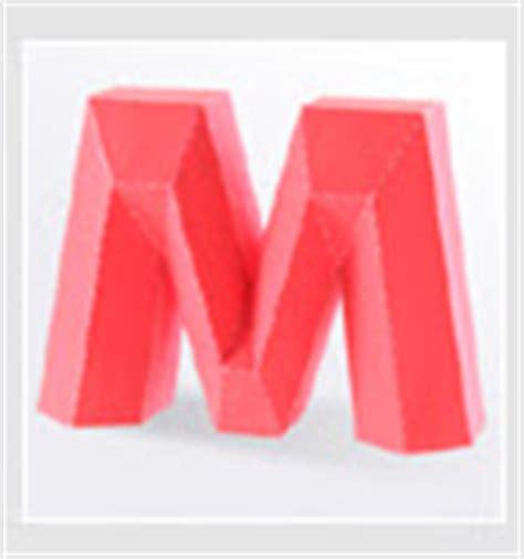 Papercraft Letters - meggiecat papercraft alphabet