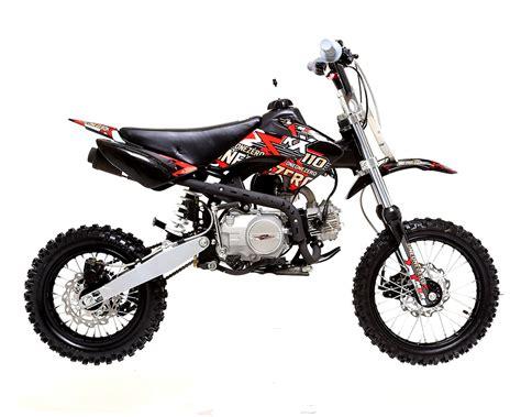 4 stroke motocross bikes m2r racing kx110f 110cc 76cm red pit bike off road dirt 4