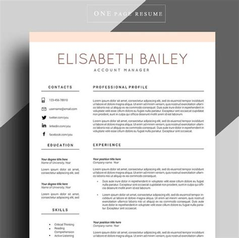 professional cv template free resume professional resume and resume format