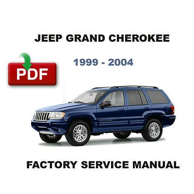 2004 Jeep Grand Cherokee Factory Owner S Manual Set Amp Case