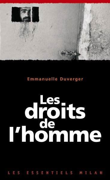 libro les droits de lhomme livre droits de l homme les ne emmanuelle duverger milan les essentiels 9782745933171