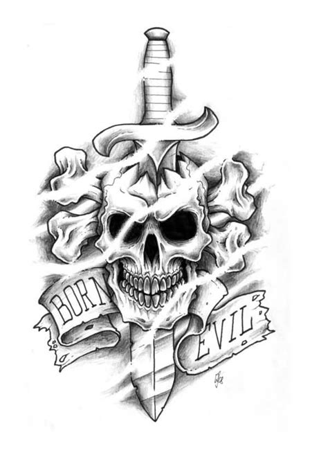 16 best skull n dagger images on pinterest tattoo ideas