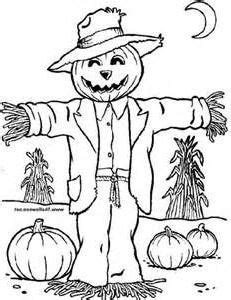 pumpkin scarecrow coloring pages scarecrow and pumpkin head coloring pages get coloring pages