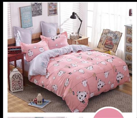 Gmb Set Mounie Panda Pink compare prices on pink duvet cover shopping