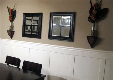 dining room trim ideas home dzine home diy add wall panels to a dining room