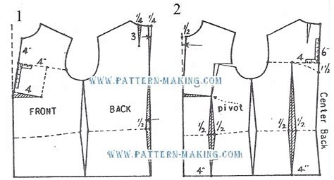 pattern making of jacket drafting a peplum jacket pattern making com