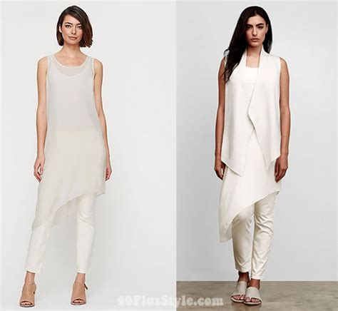 Satin Chic Tunic Dresses At Warehouse by Brand Focus Eileen Fisher The Best Of Their 2015
