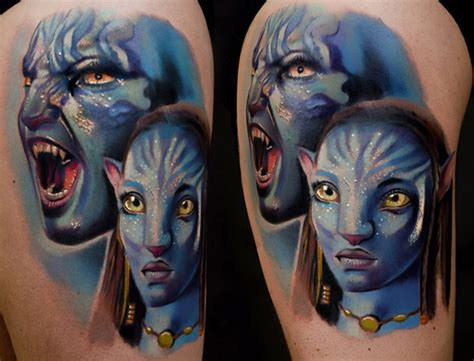 avatar tattoo 36 awesome avatar tattoos tattooblend