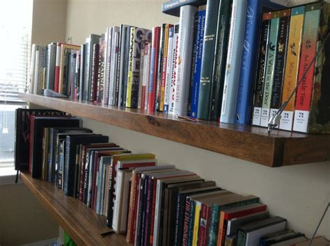 how to hang bookshelves we ve arrived in california revived kitchen