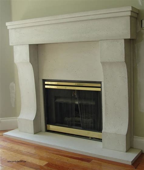 fireplace mantel 04 limestone