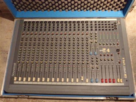 Mixer Spirit Live 4 Bekas soundcraft spirit live 4 16 4 2 image 1416984