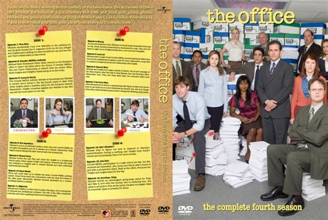 the office season 4 tv dvd custom covers the office
