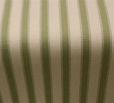 Ticking Stripe Curtains Acomb Ticking Stripe Curtain Fabric Green Per Metre Ebay
