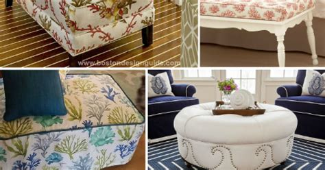 Nautical Storage Ottoman Awesome Coastal Nautical Ottomans Diy Or Shop Completely Coastal