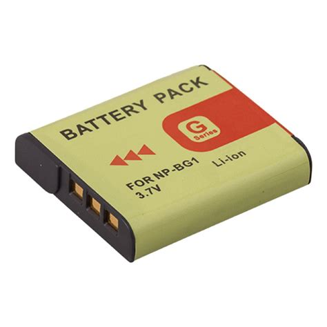 Sonynp Bg1 1 new lithium ion rechargeable battery for sony np bg1 np