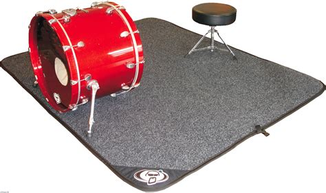 Drum Carpet Mat by When Drums Live You Will Need A Mat To Set Drum