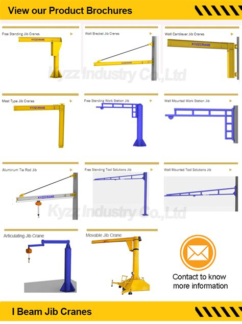 jib crane design pendant electric floor mounted jib crane free