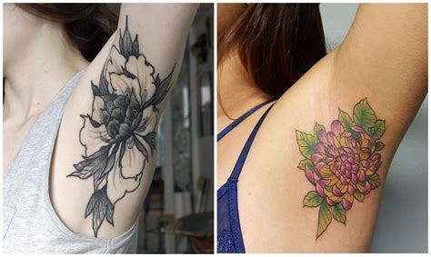 tattoo pain near armpit armpit tattoos are the latest trend to take over instagram