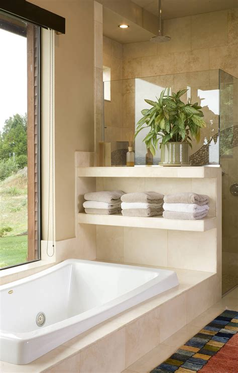 25 best built in bathroom shelf and storage ideas for 2018