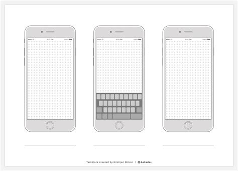 iphone app wireframe template wireframe tempalte iphone 7 vertical keyboard resource 1