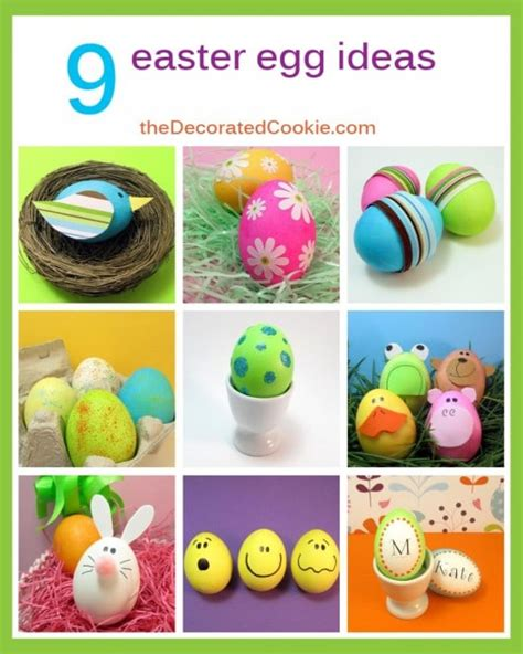 easter egg decorating themes 9 kid friendly easter egg decorating ideas