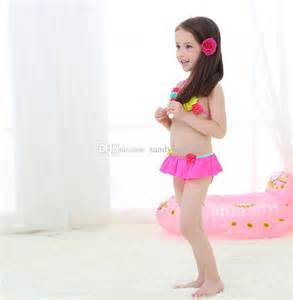 Baby girls swimsuits kids beach wear childrens clothes online with 25