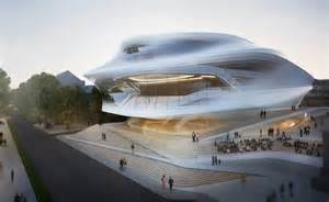 Outdoor Kitchen Designs Melbourne zaha hadid s proposed design for the beethoven festspielhaus