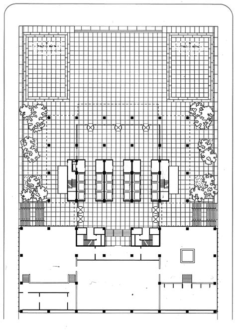 seagram building floor plan the arq m