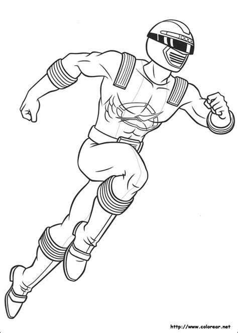 power rangers team coloring pages