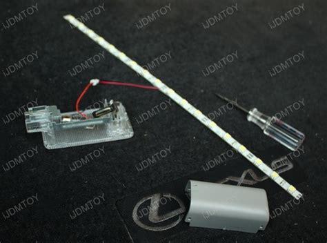 led light strips for cars installation installation guide for led light for car trunk cargo