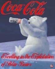 Polar Bear Coke Meme - coca cola blanchit ses canettes pour sauver l ours polaire