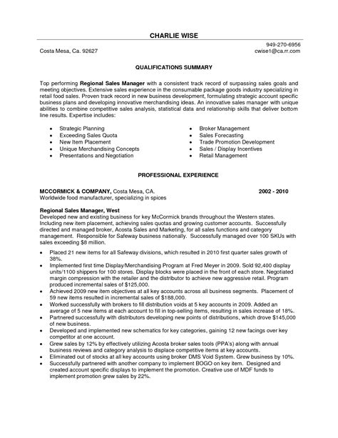 retail executive resume example executive resume resume and