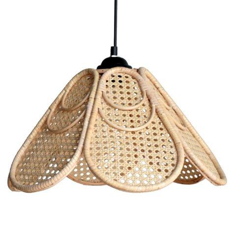 Wicker Pendant Light Rattan Wicker Rattan Ls Lighting Chandelier Grass Decorative Lights Eastern Mediterranean