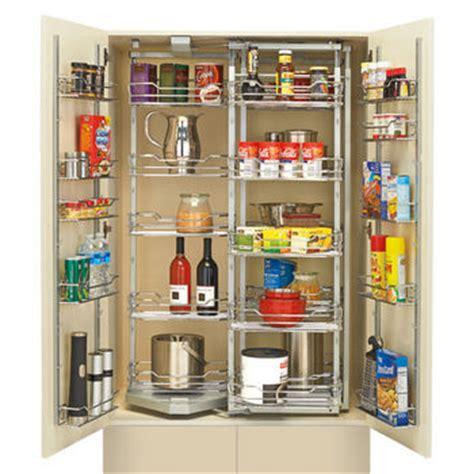 Chef Closet by Rev A Shelf Chef S Roll Out Pantry With Door Storage