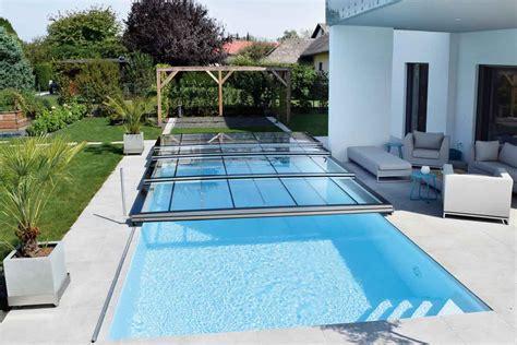 schwimmbad zu hause verl 228 ngerte badesaison durch pool 252 berdachung schwimmbad