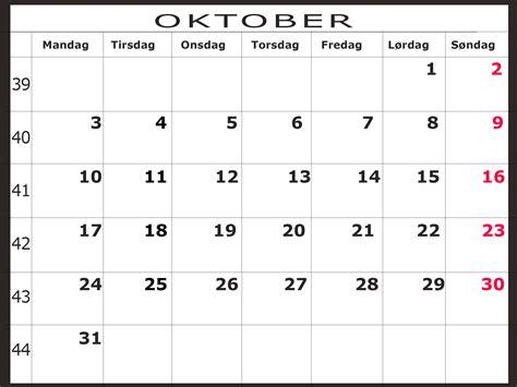 Oktober Kalender 2015 Oktober 2016 Scamclip