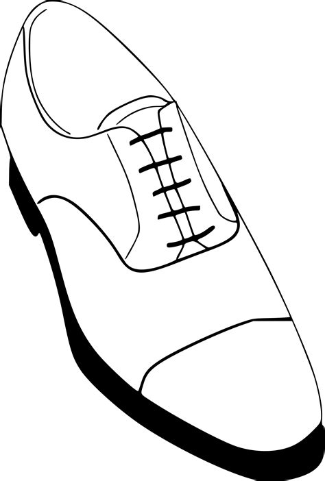 shoe drawing template shoe drawing template at getdrawings free for