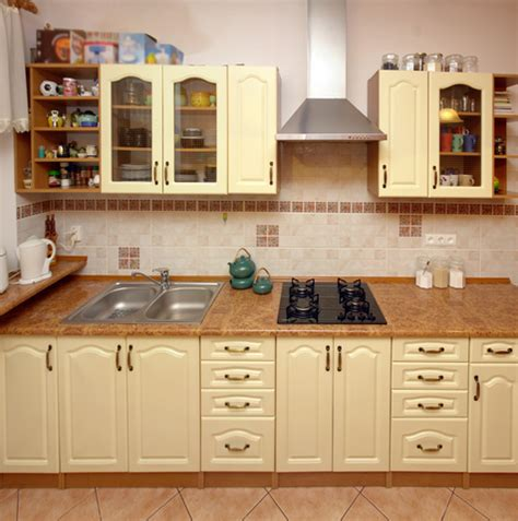Best Material For Kitchen Cabinets In India מטבחים כפריים
