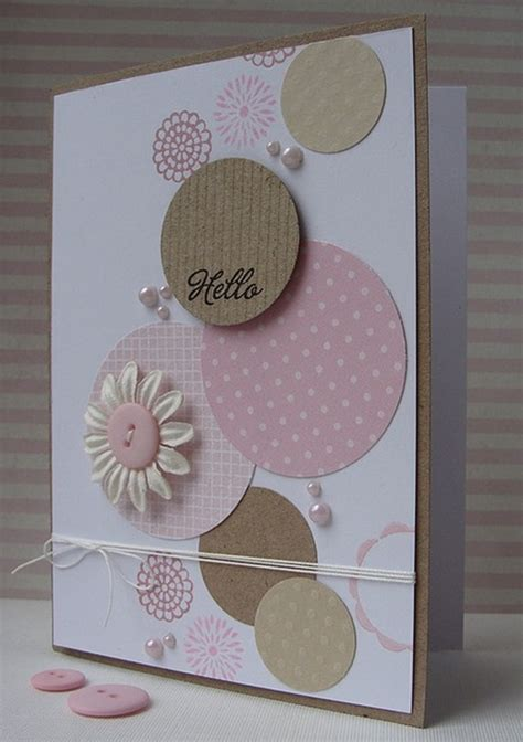 Handmade Birthday Card Designs - 40 handmade greeting card designs