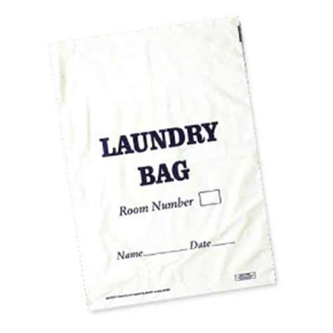 Jual Laundry Bag Hotel by Pvc Hotel Laundry Bags White 1000 Per