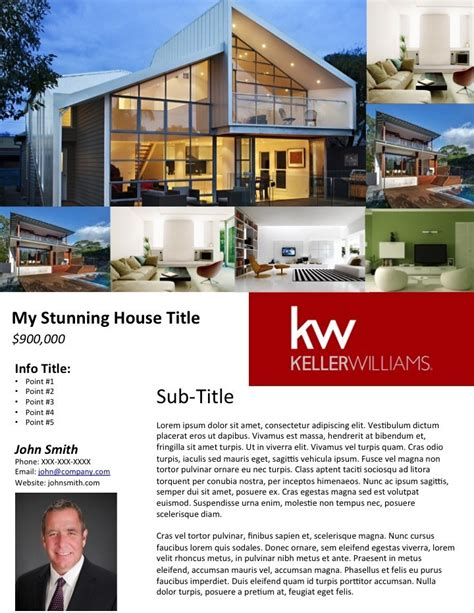 free brochure templates for mac real estate flyer templates for mac
