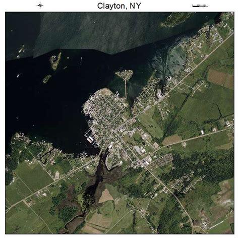 clayton ny aerial photography map of clayton ny new york