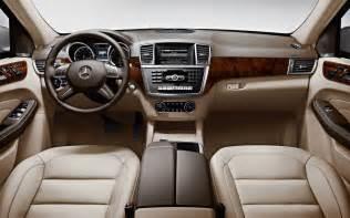 Mercedes Jeep Interior 2014 Mercedes Ml350 4matic Motor World