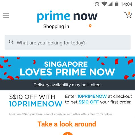 amazon singapore looks like amazon prime now is still down in singapore