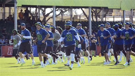 pro bowl orlando disney s nfl pro bowl experience offers fans more than