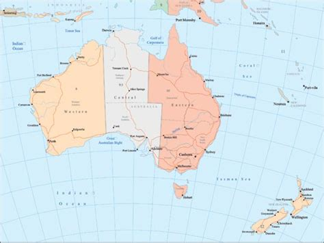lakes in australia map australia map rivers and lakes my