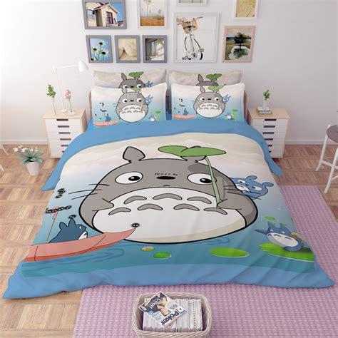 totoro bed set popular totoro sheets buy cheap totoro sheets lots from