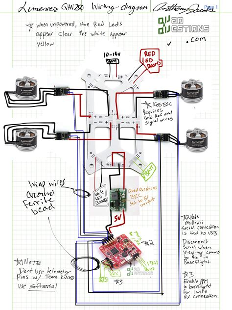 quadcopter wiring diagram manual wiring diagram with